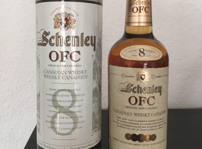 Whisky Schenley OFC 8
