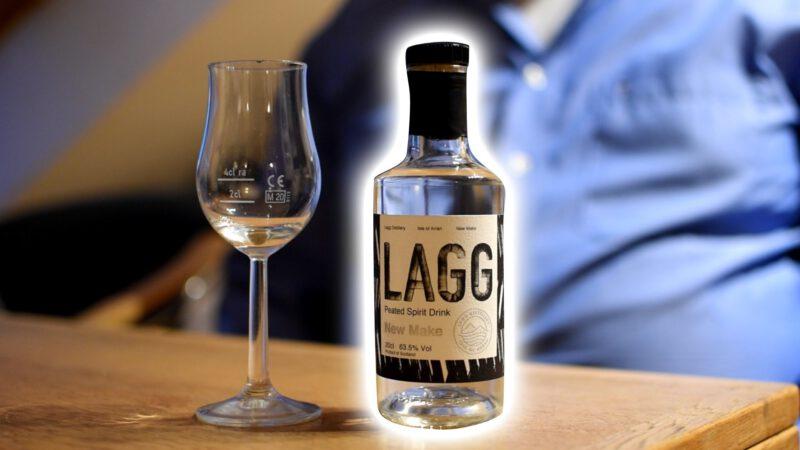 LAGG New Make Peated Spirit Drink